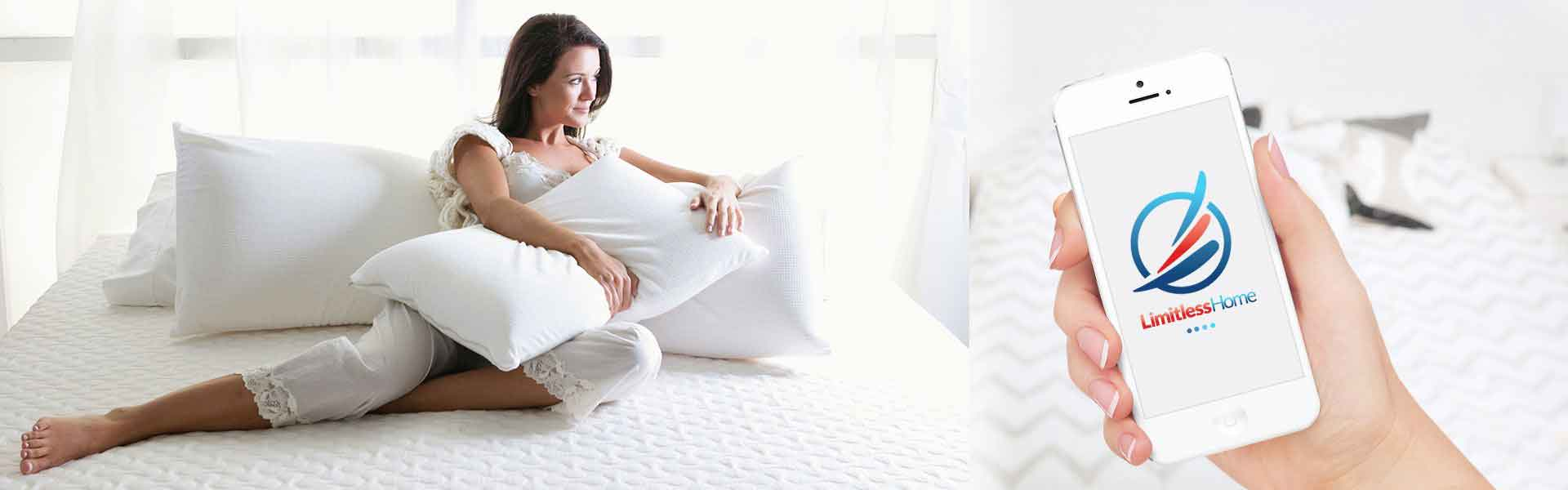 <h3>HAVE YOU HAD YOUR MATTRESS FOR MORE THAN 8 YEARS?</h3> <p>Find comfort, browse our mattress range</p> <a href='#'>Shop Now>></a>